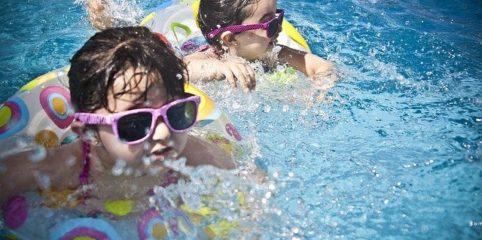 Sicher schwimmen: Sicher geht das!